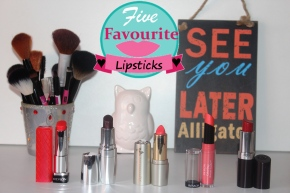 Lippies I'm loving at the moment #2