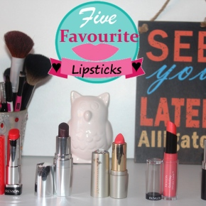 Lippies I'm loving at the moment#2