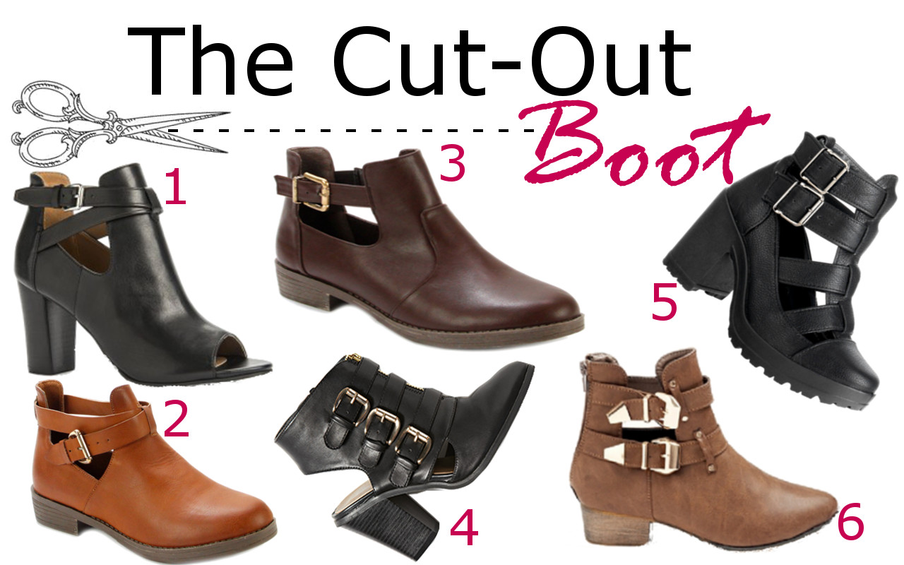 Fashion Friday: The Cut Out Boot