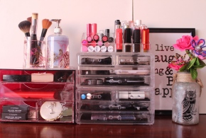 {Part 2} My Acrylic Makeup Storage units