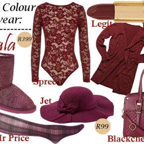 Magazine Monday: Pantone's Colour Of The Year – Marsala #1