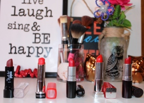 {Review} 5 Must Have Red Lipsticks For Winter.