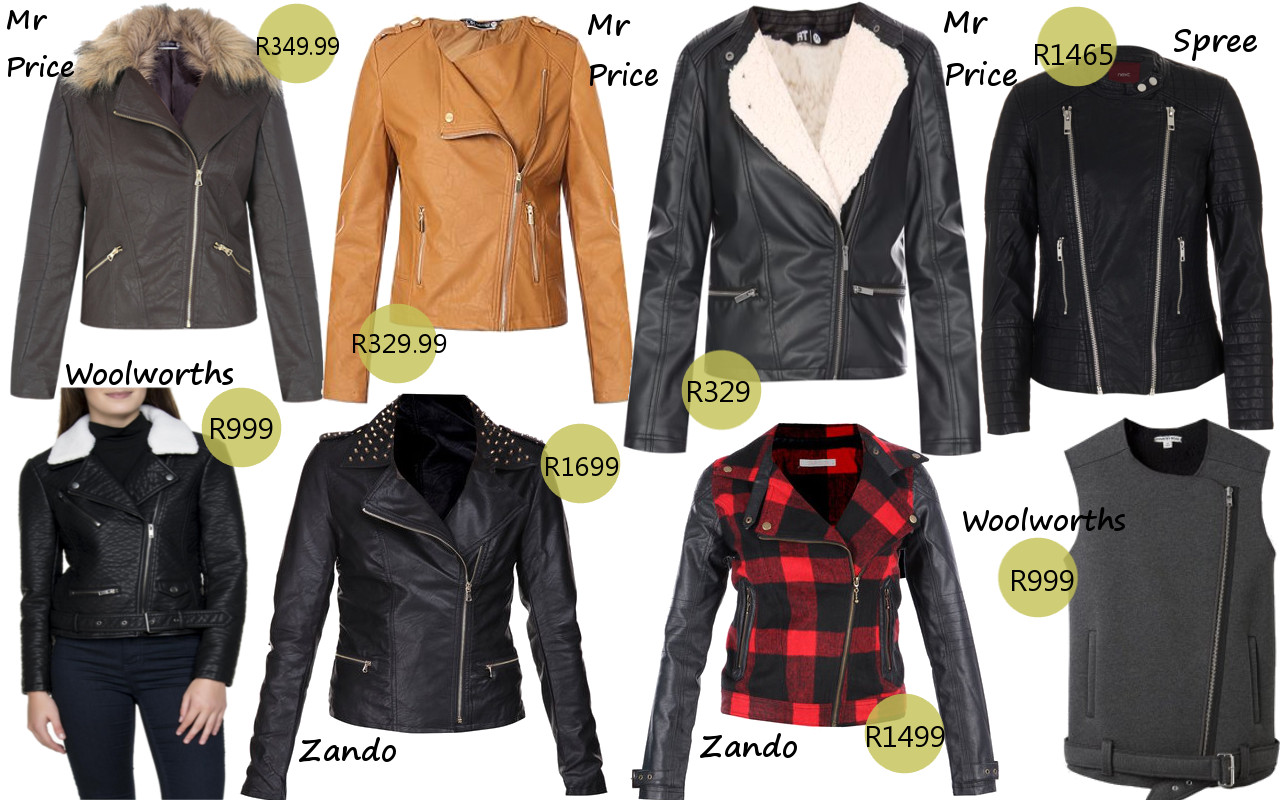 Leather jacket cape town - Leather Biker Jacket Cape Town