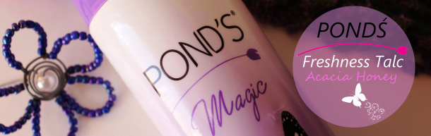 Pond's Talc in Acacia Honey