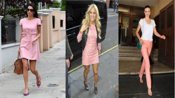 City Girl Vibe Celebs wearing rose quartz