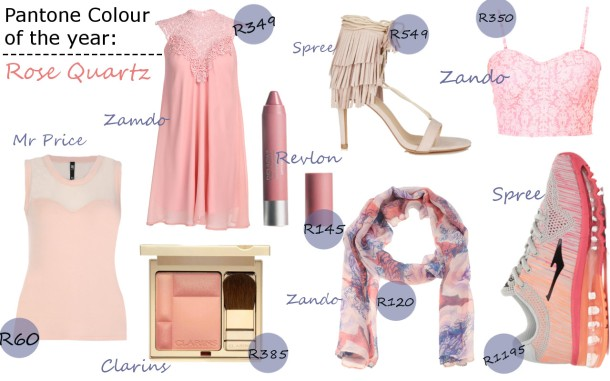 City Girl Vibe Pantone Colour of the year 2016 rose quartz