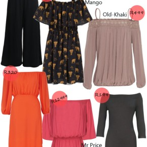 Fashion Friday: Off the shouldertrend