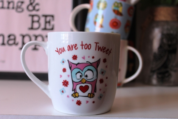 City Girl Vibe Owl Mug