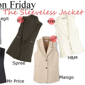 Fashion Friday: The Sleeveless Jacket