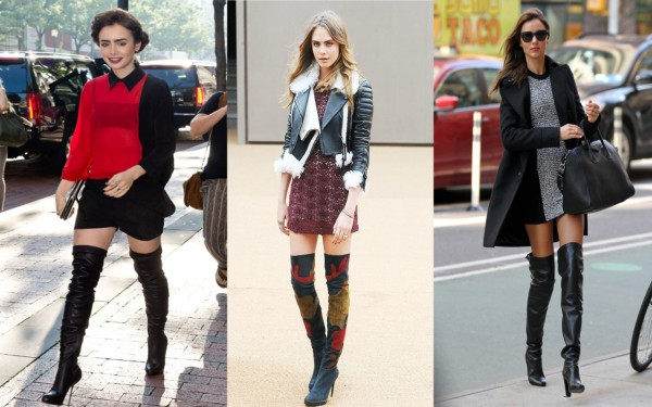 City Girl Vibe Blog Celebrities wearing thigh high boots