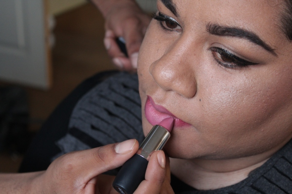 City Girl Vibe Hean Cosmetics mattense lipstick 405 x Zoor Makeup