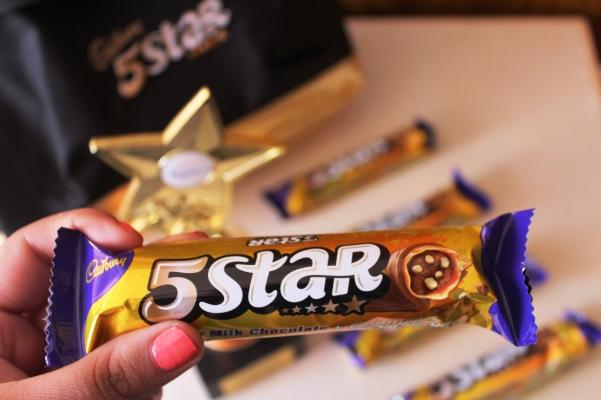City Girl Vibe Cadbury 5Star packaging
