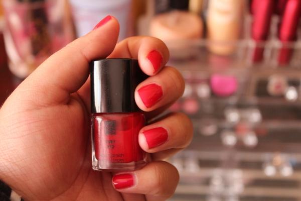 City Girl Vibe Isabella Garcia Ruby Red Nail Varnish