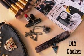 Fashion Friday: The Choker Trend + {DIY} 5 minutechoker
