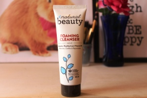 {Review}Natural Beauty Foaming Cleanser