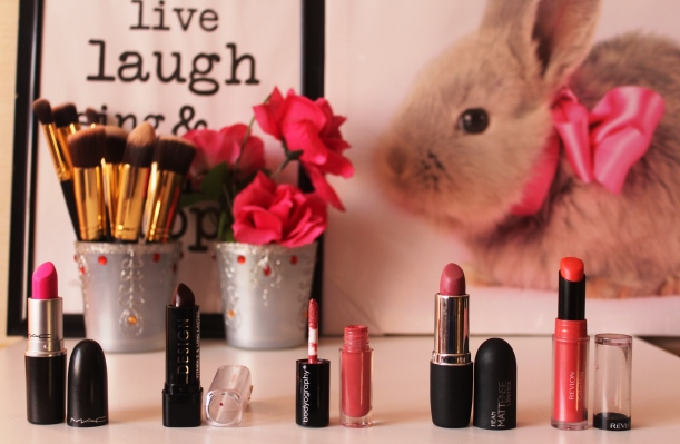 City Girl Vibe Lipsticks July-August