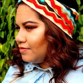 Fashion Friday: Boho Inspired headband + 3 Step {DIY}