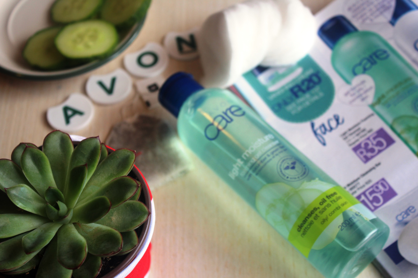 Review Avon Light Moisture Foaming Gel Cleanser With Cucumber