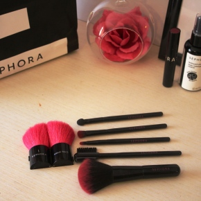 {Review} Sephora Brushes & Daily Makeup Brush Cleaner.