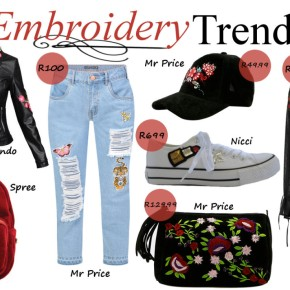 Fashion Friday: The Embroidery Trend