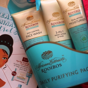 {Review} African Extracts: Rooibos – Daily Purifying Pack