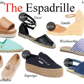 Fashion Friday: The Espadrille