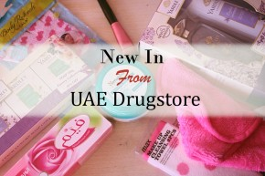 {New In} From UAE Drugstore.