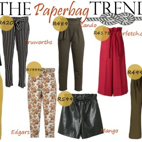Fashion Friday: The Paperbag Pants