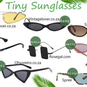 Fashion Friday: Tiny Sunglasses