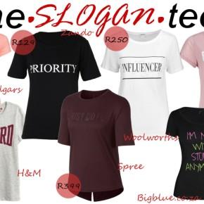 Fashion Friday: The SloganTee