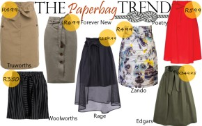 Fashion Friday: The Paperbag Skirt