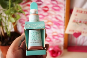 {Review} Amz Loves: Happy Hands – Hand  & Nail Cream