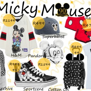 Fashion Friday: Mickey Mouse – 90th birthday.