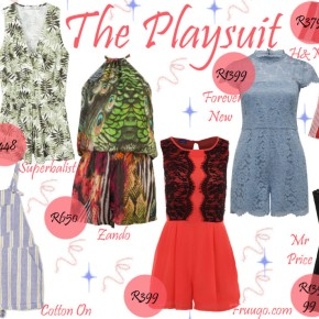 Fashion Friday: The Playsuit