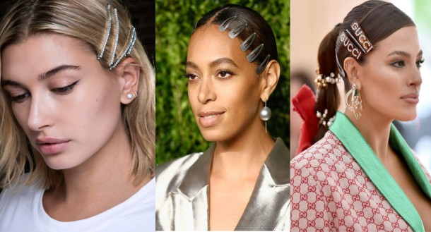 City Girl Vibe x Hair Clips Trend