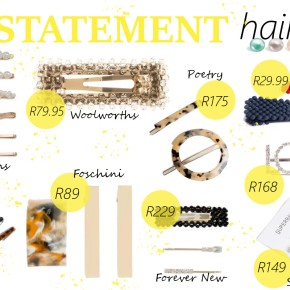 Fashion Friday: The statement hair clip