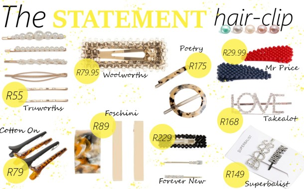 City Girl Vibe x The Statement Hair Clip Trend