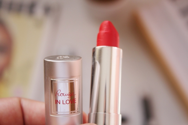 City Girl Vibe x Lancome Rouge In Love Lipstick