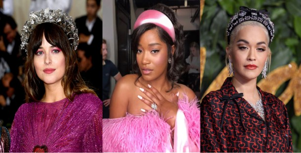 City girl vibe x celebs wearing the chunky alice band trend