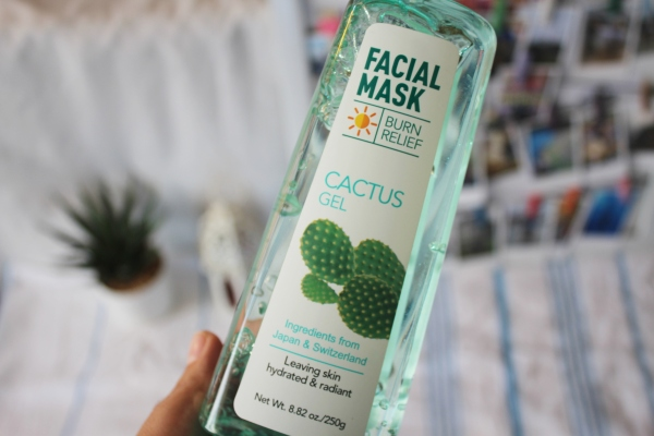 City Girl Vibe x Miniso Cactus Gel Mask