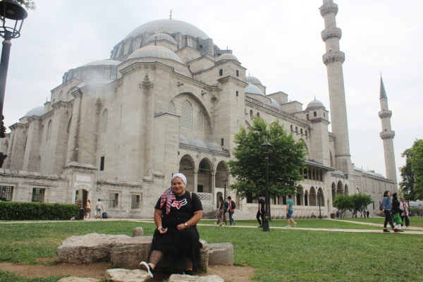 City Girl Vibe x Süleymaniye Mosque