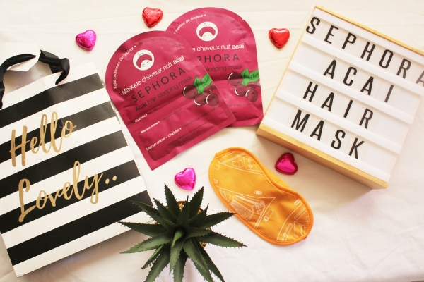 City Girl Vibe x Sephora Acai Hair Mask Review