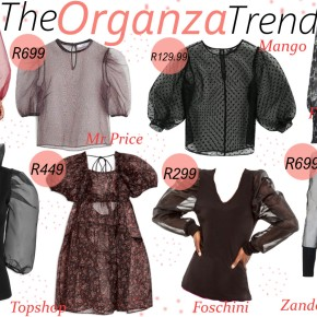 Fashion Friday: The Organza Trend