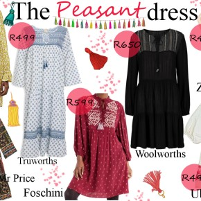 Fashion Friday: The Peasant Dress