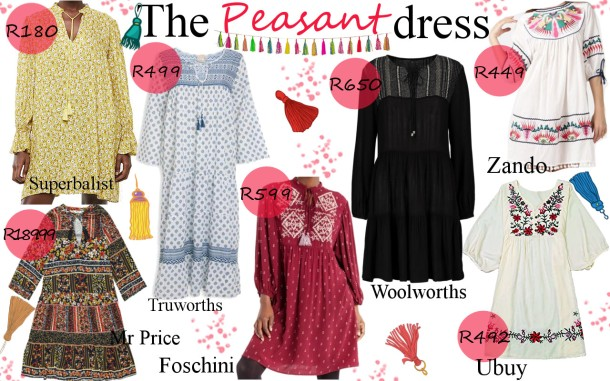 City Girl Vibe x The Peasant Dress Trend