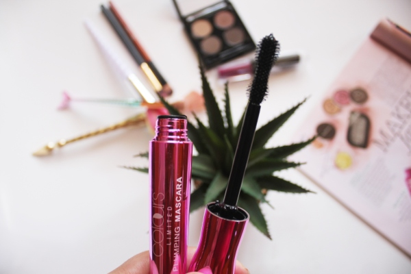 City Girl Vibe x Colours Limited Plumping Mascara