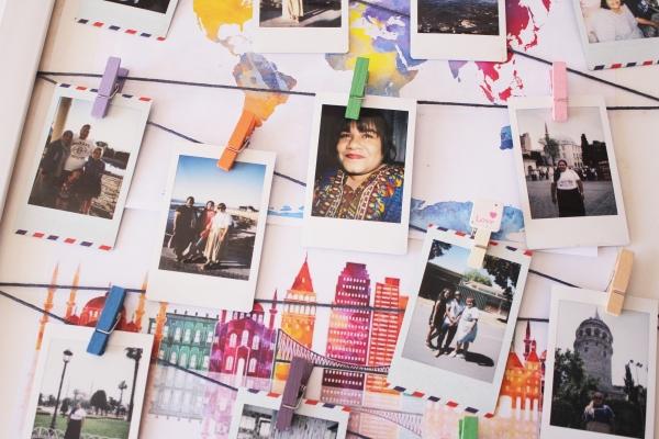 City Girl Vibe x Instax DIY Frame Display