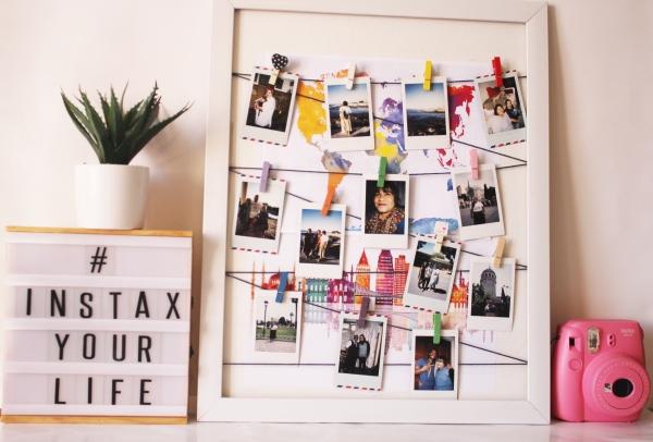 City Girl Vibe x Instax Prints DIY