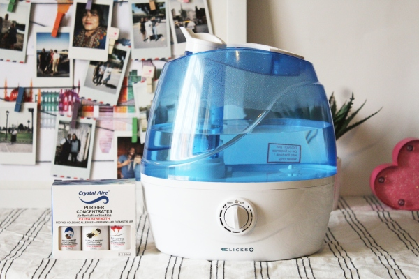 City Girl Vibe x Clicks Mini Humidifier