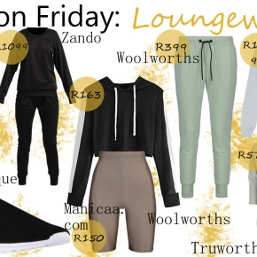 Fashion Friday: Loungewear